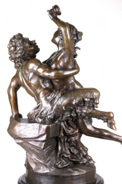 Details about vintage greek mythology half man half horse bronze art