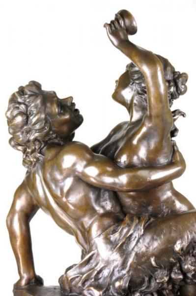 VINTAGE GREEK MYTHOLOGY HALF MAN HALF HORSE BRONZE ART   eBay - photo#3