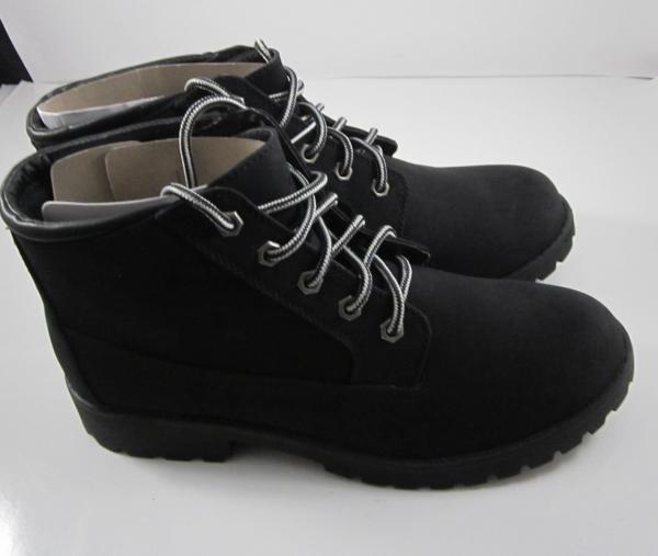 006a4828f79c Women s Joe Boxer Black Evie Lace up Ankle Boots Shoes Size 11