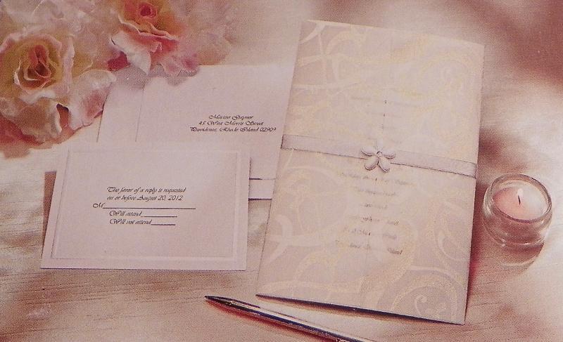 Wilton diy wedding invitation kit glitz and glamour 25 for Wedding invitation kits 50 count