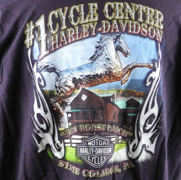 Harley Davidson State College Pa Iron Horse Ranch Mens T
