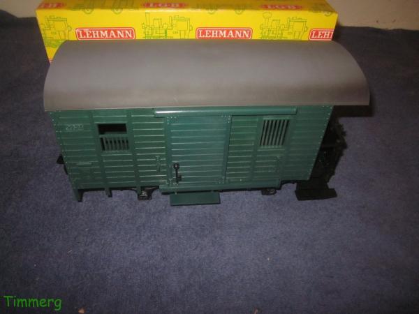 Lehmann LGB 3019 Post Mail Freight Car G Scale Yellow Box | eBay