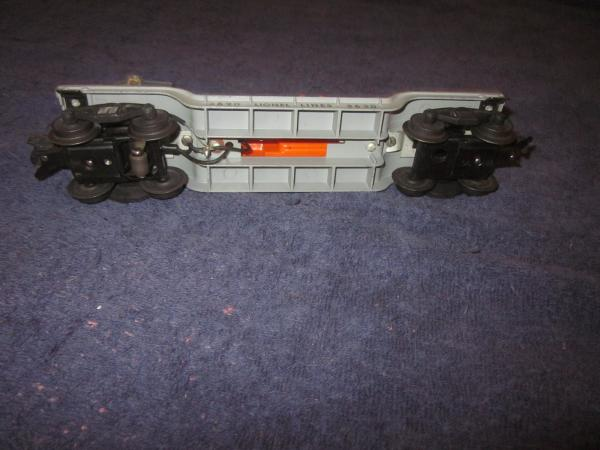 postwar lionel trains 3620 operating searchlight car complete nice exc