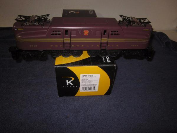 K Line K2780 4912ic Prr Pennsylvania Gg 1 Dual Motor