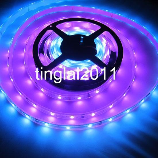 16ft 5050 SMD Flash RGB Dream Color 94 Change 6803 IC LED Strip Light Waterproof