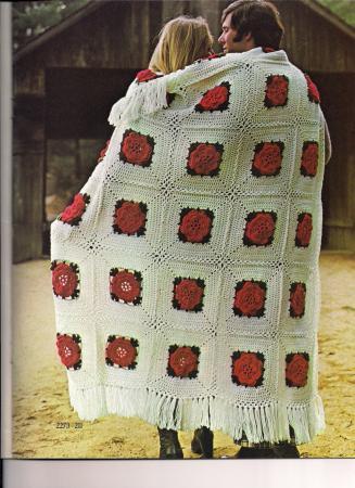 Americana Crochet Afghan Pattern Crochet Patterns