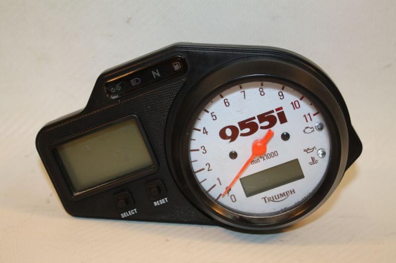 Triumph Speed Triple 955i 2002 Gauge Cluster Speedometer Speedo Gauges