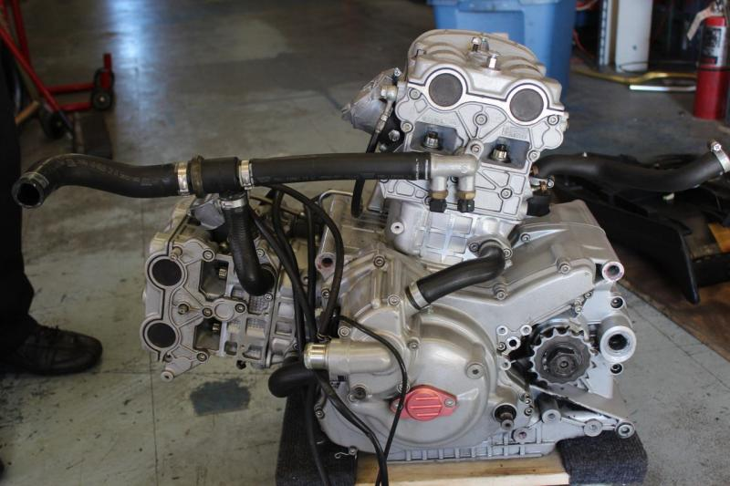 Ducati Monster S4RS S4R s 999 2007 Engine Motor Components 6 618 Miles