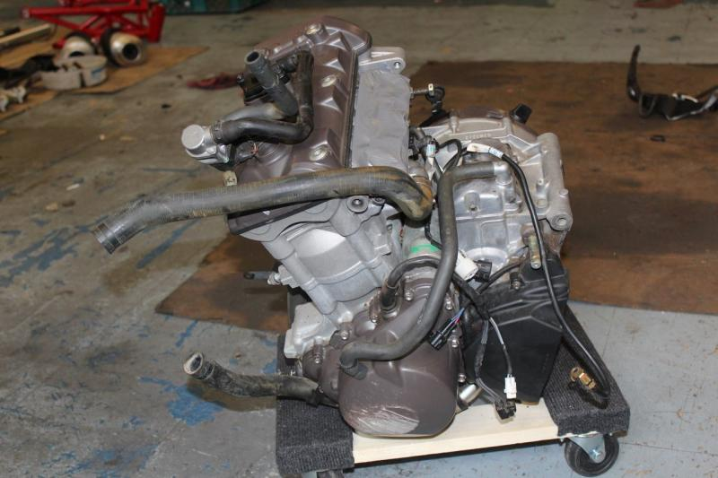 Triumph Daytona 675 2007 Engine Motor Components Rash Video