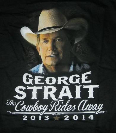George Strait Cowboy Rides Away Tour