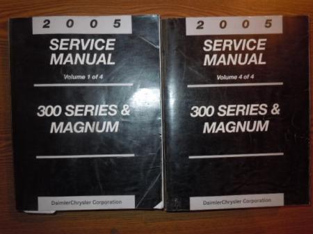 2005 chrysler 300 series and magnum shop service manual. Black Bedroom Furniture Sets. Home Design Ideas