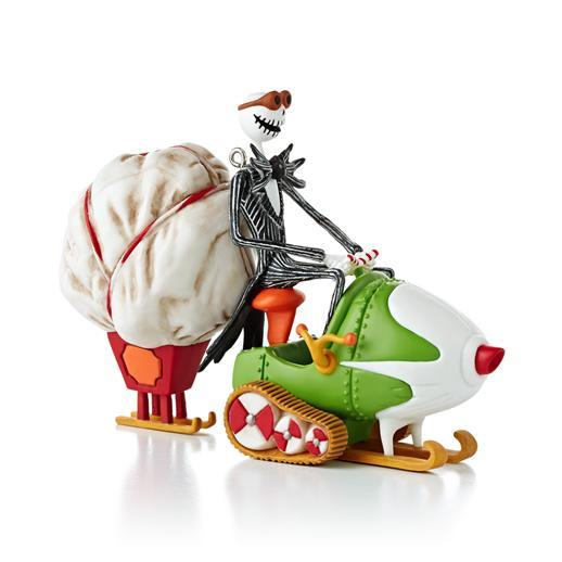 Details about HALLMARK 2013 NIGHTMARE BEFORE CHRISTMAS JACKS SLEIGH O ...