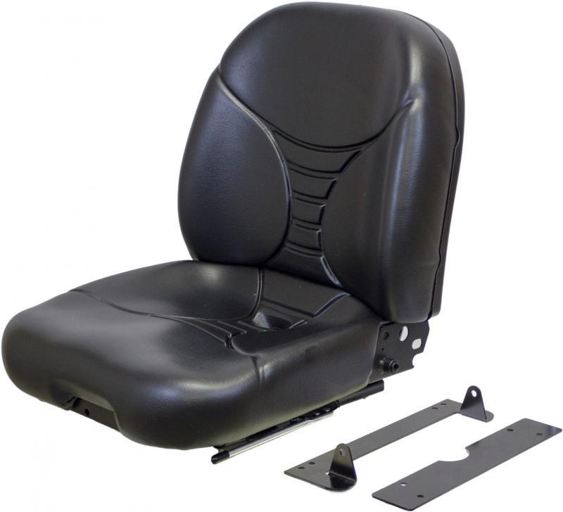 Dt Kubota M5500 Tractor Seats : Kubota l series black vinyl seat fits dt