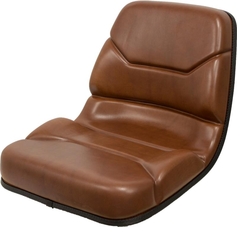 Case 580l Backhoe Seat : Case backhoe seat in brown replaces oem b for c