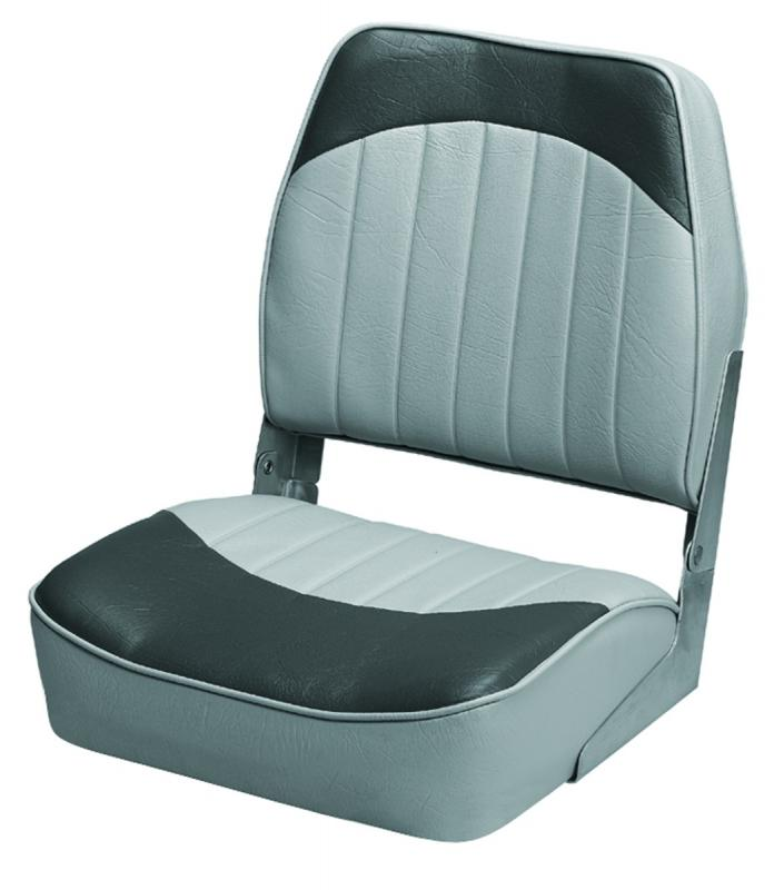 Boat Seat Dimensions : Wise boat seat low back gray charcoal wd pls