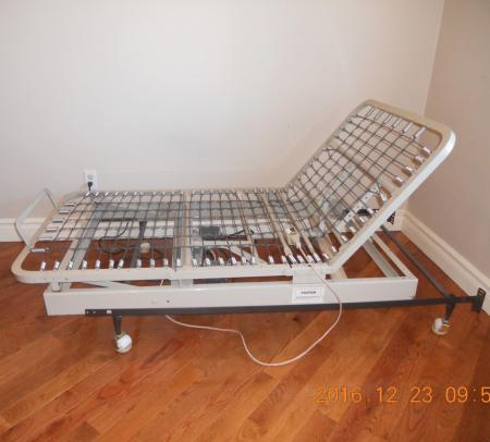 Adjustable Motorized Bed Frame Twin Solid Steel Remote Control Hospital Bed Ebay