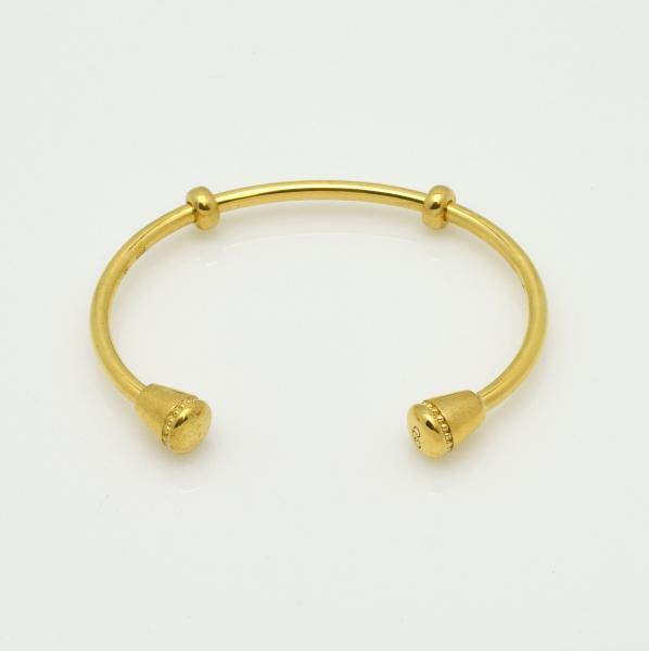 Links of London 18ct Amarillo Oro Vermeil /& Black espinelas cráneo encanto RRP £ 70