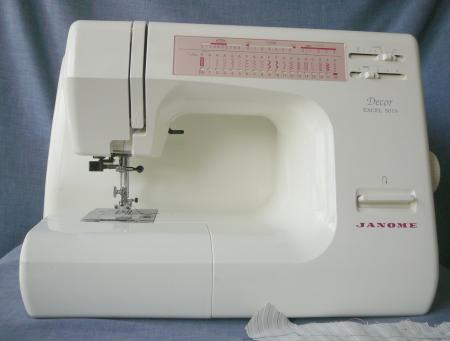 Janome sewing embroidery machine d cor excel 5018 ebay for Decor excel 5018