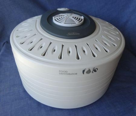 sunbeam healthy food dryer instructions