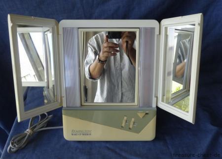 Retro Remington Lighted Makeup Make Up Mirror Model Am