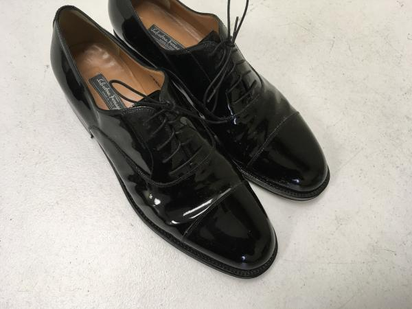 892edf5b82468 Salvatore Ferragamo Patent Leather Formal Dress Shoes 12 D Tramezza ...