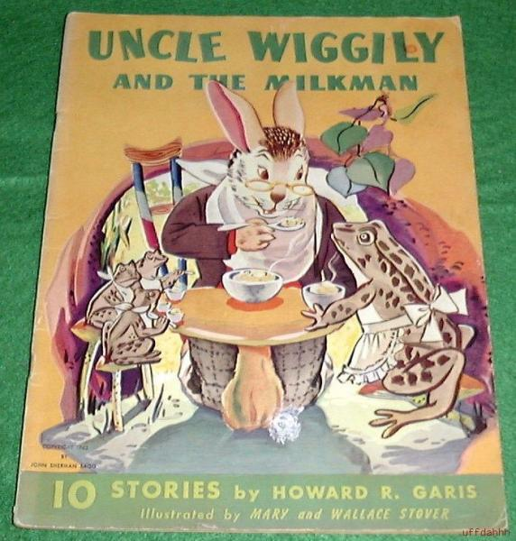 Milkman's Book http://www.ebay.com/itm/UNCLE-WIGGILY-AND-THE-MILKMAN-10-STORIES-book-1943-/130229355871