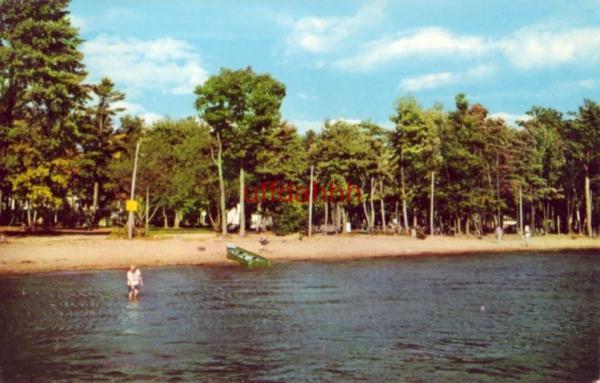 Shawano (WI) United States  City new picture : Details about SHAWANO LAKE PARK BEACH SHAWANO, WI 1957