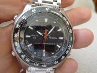 Mens Bulova Chronograph Marine Star Alarm Watch C977552