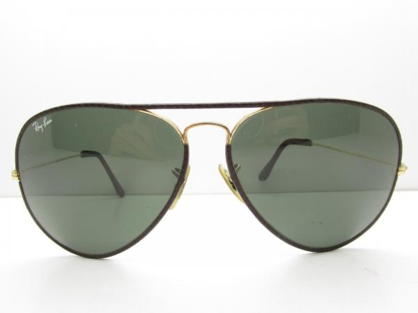 50419315afd6 Details about VINTAGE B&L RAY-BAN TEARDROP AVIATOR SUNGLASSES leather eyewear  62-14-140 98046