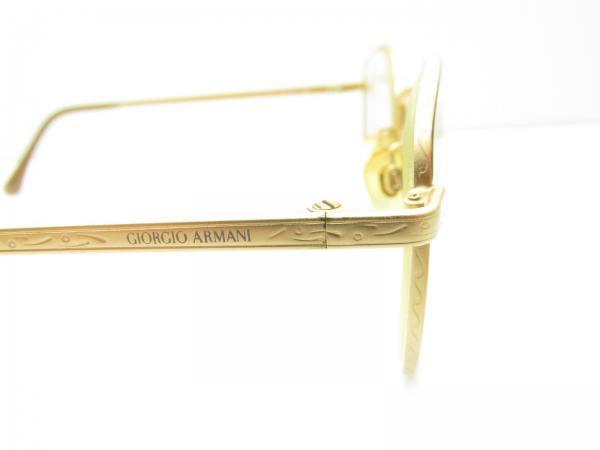 083d8871857a3 GIORGIO ARMANI 725 ROUND DESIGNER EYEGLASSES FRAMES eyewear gold 49 ...