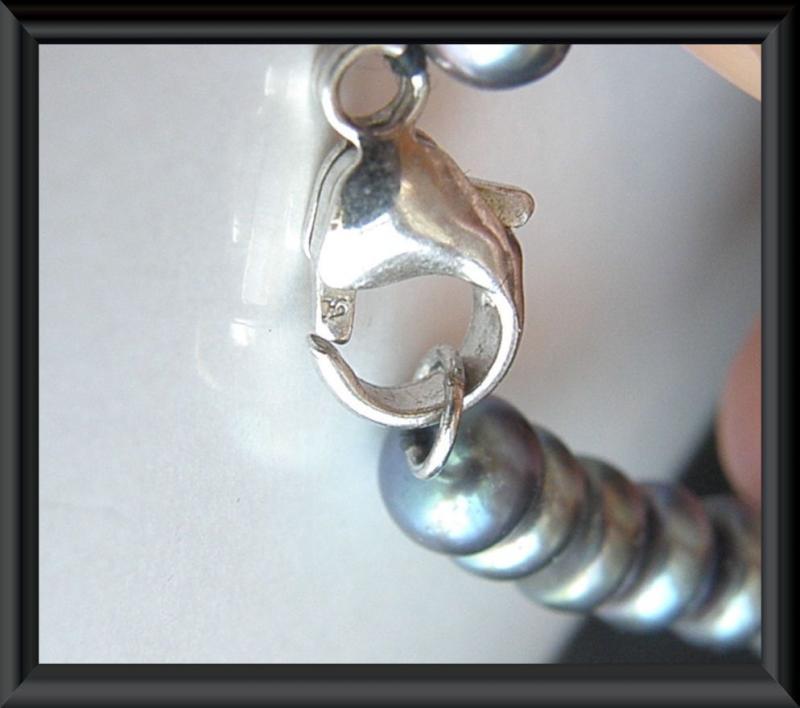 HONORA STERLING SILVER 925 PEARL NECKLACE BRACELET EARRINGS SET