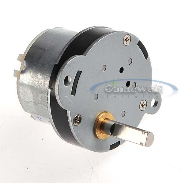 2 X 12v 1000rpm Mini Torque Gear Box Motor Hobby Dc New