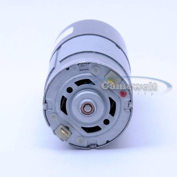 37mm 12v Dc 2 Rpm Torque Gear Box Motor Ebay