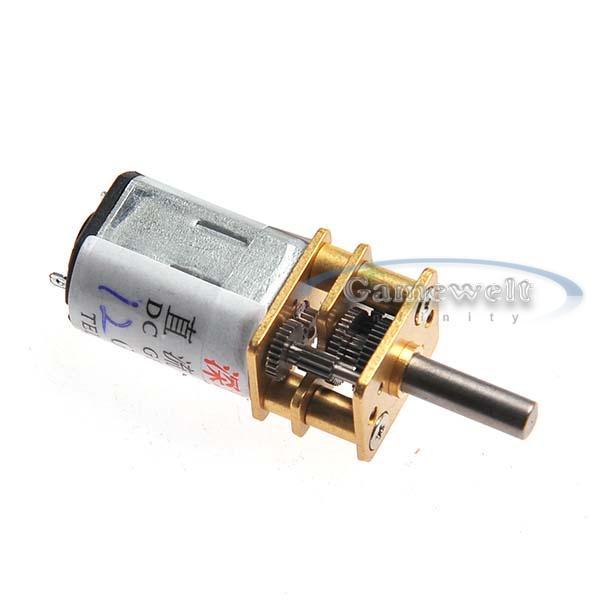 12mm 6v dc 300rpm high torque gear box electric motor mini for 300 rpm high torque dc motor