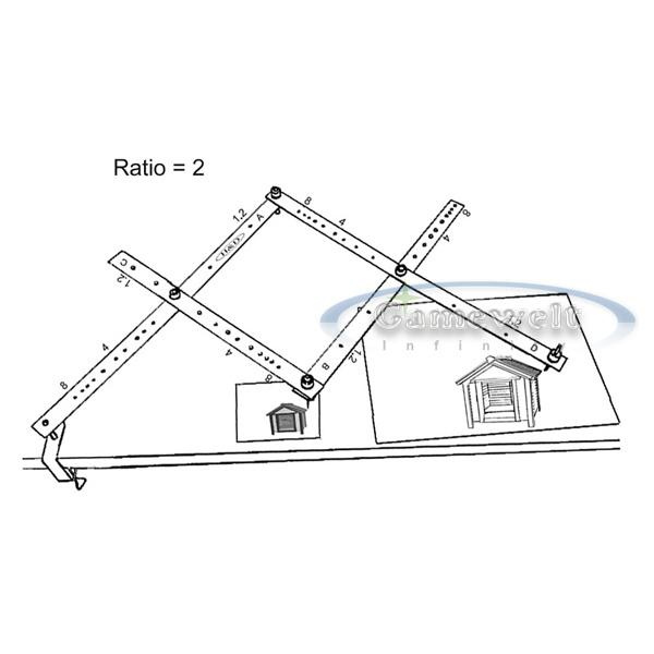 precision pantograph copy drawing art tool 34cm new