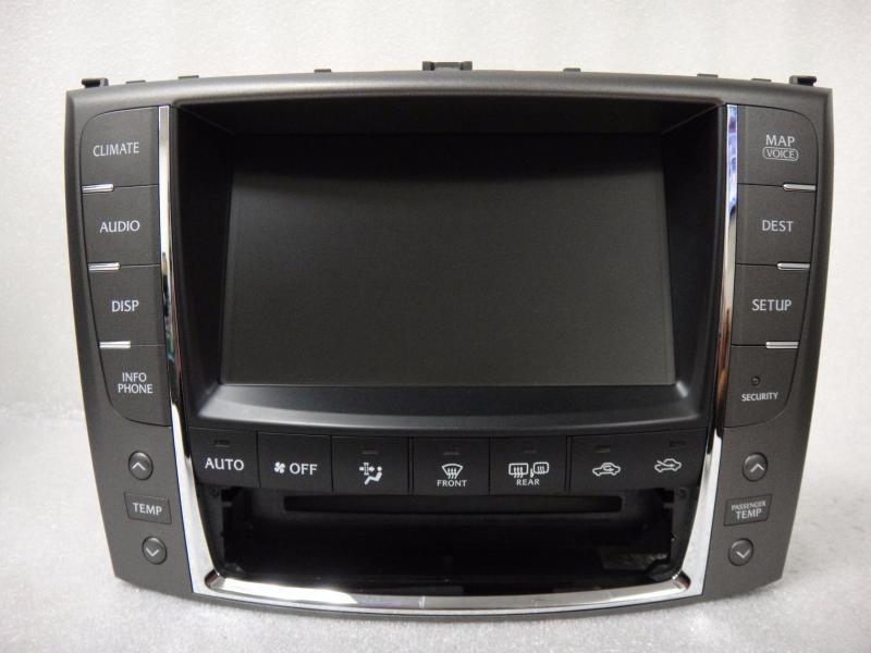 2010 2012 lexus is250 is350 is f gps navigation radio display screen monitor oem ebay. Black Bedroom Furniture Sets. Home Design Ideas