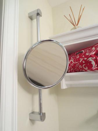Aliseo 131sl Sliding Wall Mount Vanity Mirror Chrome New