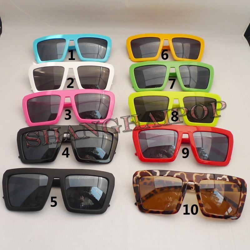 Sunglasses Lady Gaga Square Frame Funky Shades Sunnies Wayfarer