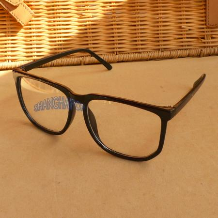 Custom Made Lens Prescription Eye Glasses Black Square Big ...
