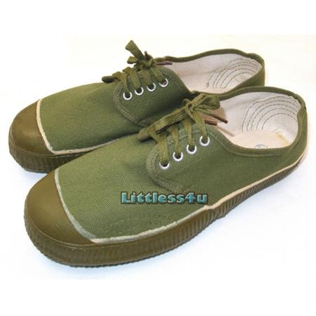 low top vintage army canvas shoe trainer sneakers