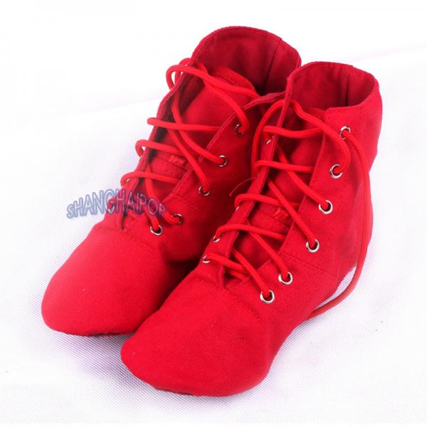 high top ballet shoes boots canvas gymnastics