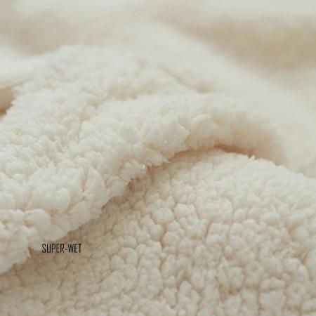 fausse peau de mouton polaire sherpa tissu pour veste. Black Bedroom Furniture Sets. Home Design Ideas