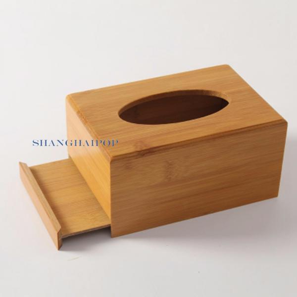 1x bambus holz taschentuchbox abdeckung papier halterung. Black Bedroom Furniture Sets. Home Design Ideas