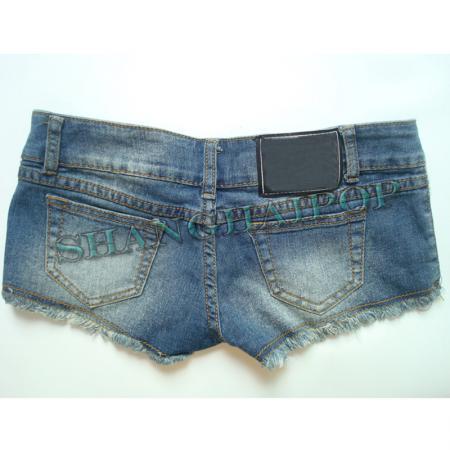denim micro shorts - photo #49