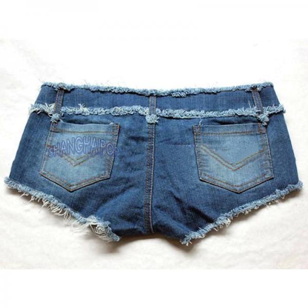 denim micro shorts - photo #28