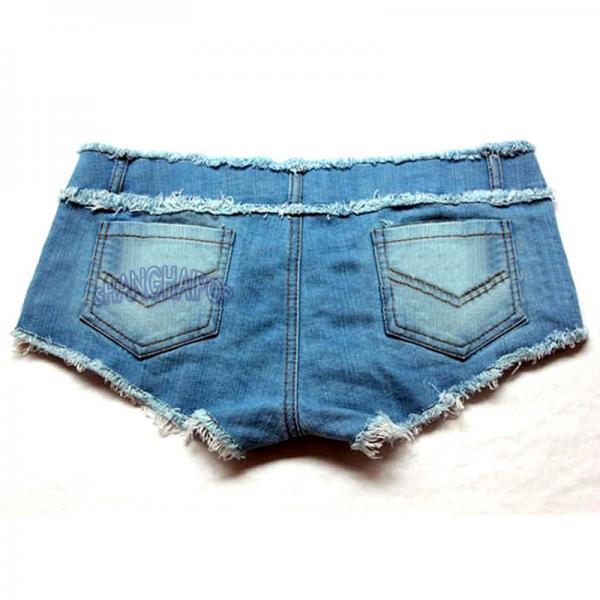 denim micro shorts - photo #37
