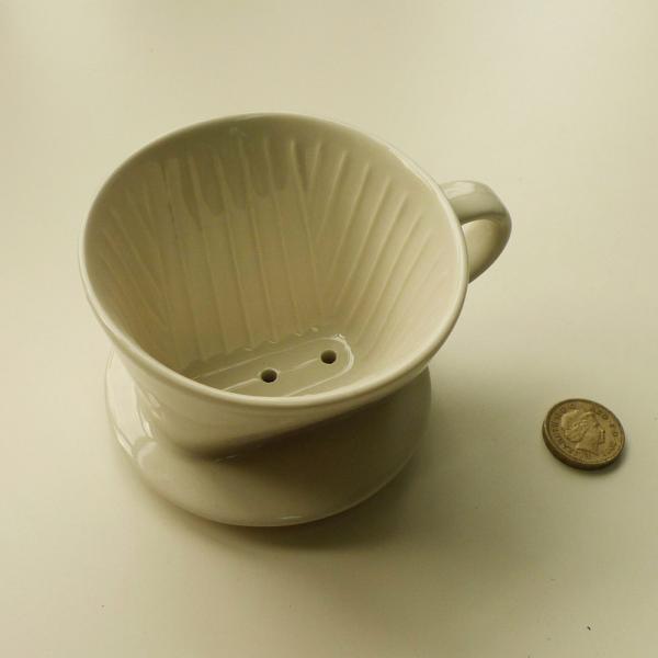3 Hole Ceramic Coffee Filter Cone Drip Cup Maker Holder Kitchen Maker Porcelain eBay