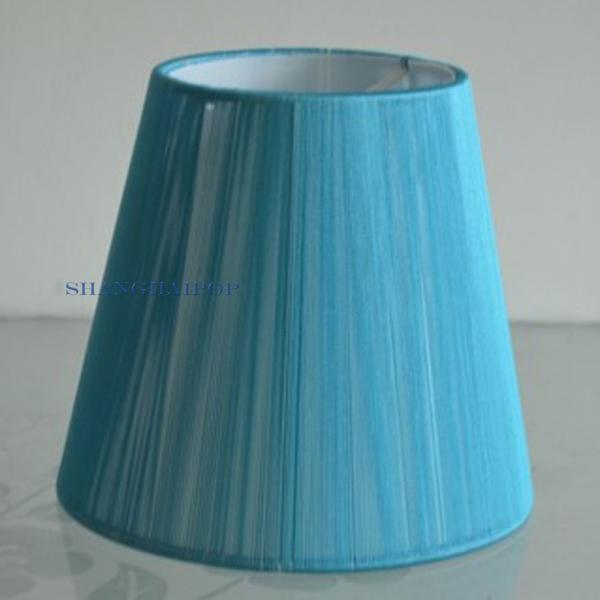 2x stoff lampenschirm f r anh nger wandleuchte licht wandbehang wohndeko f r e14 ebay. Black Bedroom Furniture Sets. Home Design Ideas