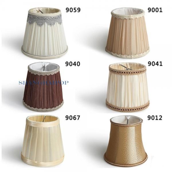2 x stoff lampenschirm f r anh nger wandleuchte deckenlicht wohndeko vintage neu. Black Bedroom Furniture Sets. Home Design Ideas