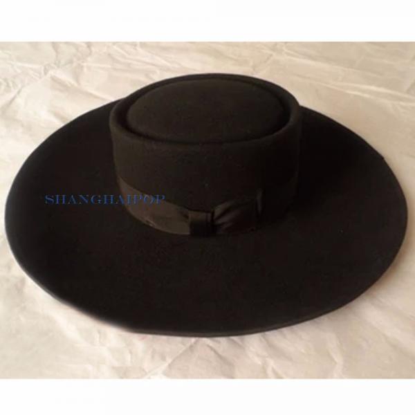100 wool fedora trilby hat cap vintage wide